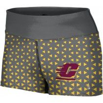 ProSphere Women/'s Central Michigan University Digital Boy Cut Short CMU
