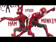 "SPIDER-MONKEY/SPIDER-HAM Custom Marvel Legends Spider-Man 6"" action figure review - YouTube"