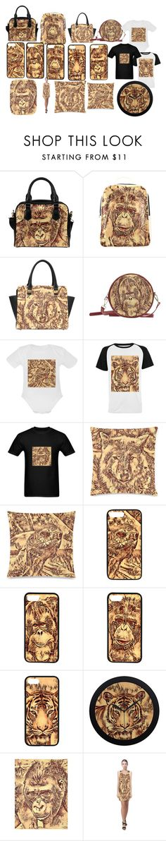 Amazing Animals by mehrfarbeimleben on Polyvore featuring men's fashion and menswear