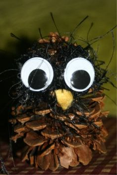 CraftyNoodle - Kids Crafts - owl