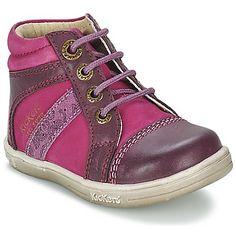 Sapatilhas Kickers TRASSI Rosa / Violeta 350x350