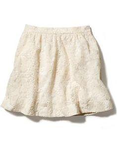 eyelet skirt / piperlime