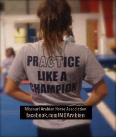 prACTice Like a Champion - Always!
