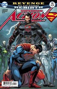 Mild Mannered Reviews  Action Comics #981