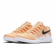 separation shoes 8303e d6675 Nike Air Zoom Vapor X Tennis Shoes Womens 10 Tangerine Tint White  Nike   TennisShoes