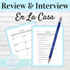 Spanish House Vocabulary Review and Interview