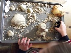 The perfect moldable Play Sand ~ Perfect for building sandcastles indoors