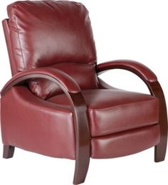 Shop for a Armando Red Blended Leather Recliner at Rooms To Go. Find Recliners/Lift Chairs that will look great in your home and complement the rest of your furniture. #iSofa #roomstogo