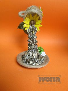 Souvenirs Flying Cup Sunflower Souvenir Home by ivonabg on Etsy