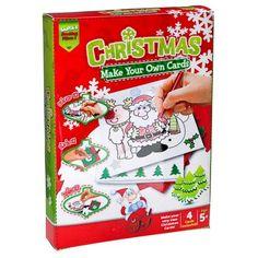 Make Your Own Christmas Cards   Poundland