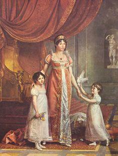 1809 Julia Bonaparte by Jean Baptiste Wicar (Galleria Nazionale di Capodimonte, Napoli Italy) | Grand Ladies | gogm