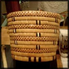 NW Coast Native American basket |Pinned from PinTo for iPad|