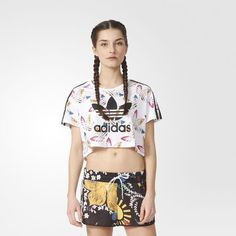 adidas - Surf Cropped Tee