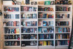 oh-thebookfeels:  I finally have shelves!!! (Purchased at Ikea for $69 each)   instagram   facebook   instagram   blog  http://ift.tt/2f9R9t0