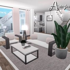 Trendy Ideas For Home Aesthetic Exterior House Rooms, Bedroom House Plans, Luxury House Plans, Sims House, Modern Family House, Simple Bedroom Design, Aesthetic Bedroom, Cute Living Room, Tiny House Bedroom