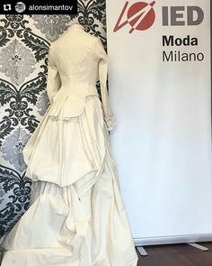 #Repost @alonsimantov ・・・ New at IED MODA LAB #ied #iedmoda #iedmilano #fashion #historicalcostume @monimed #firstyear http://butimag.com/ipost/1496408325151421776/?code=BTET3GDlnVQ