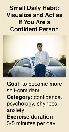 How to become more self-confident