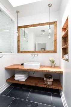 Banheiro Rústico  55 Ideias com Fotos e Projetos 062a232f5422