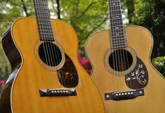 1930 Martin OM-28 and OM-45 DeLuxe | Nice Acoustic Guitars | Pinterest