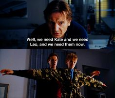 """Well we need Kate and we need Leo"" ~ Love Actually (2003) ~ Movie Quotes ~ I simply loved these two <3"