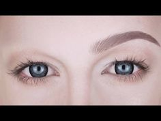 If like me you want to know how to draw on realistic looking eyebrows without looking permanently surprised, this video tutorial is it!
