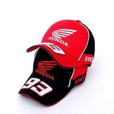 Honda 93 Marc Marquez MotoGP Hat Embroidered Baseball Cap Hat Outdoor  Sports  fashion  clothing 30c17ac4e14