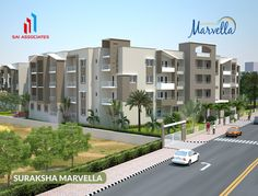Impeccable planning for incredible living!   More info about Suraksha Marvella Visit http://www.saiproperties.com/marvella/marvel.php or call +91 9342 770 770.