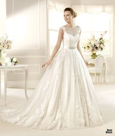 Perfect Wedding Dresses wedding dresses wedding glamour featured fashion If it didn't have the lace at the chest