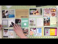 Two Peas Project Life May 2013 with Melissa Stinson (Two Peas in a Bucket) - YouTube