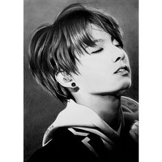 Jungkook of BTS, Bangtan Boys, KPop by Mim78 ❤ liked on Polyvore featuring bts