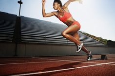 Strategies For Running Faster. Cool article! Land in the middle of your foot, take short strides, and start slow, then go faster.
