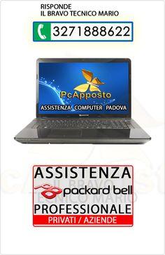 Centro asistenza notebook notebook Pakard bell per privati ed aziende. Lavoro eseguito a regola d'arte preceduto da preventivo. Il Bravo Tecnico Mario