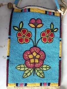 New Cheap Bags. The location where building and construction meets style, beaded crochet is the act of using beads to decorate crocheted products. Powwow Beadwork, Indian Beadwork, Native Beadwork, Native American Beadwork, Powwow Regalia, Native American Crafts, Native American Fashion, American Art, Beaded Purses