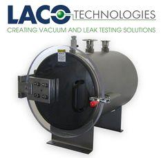 "LVC1820-3112-HI 18"" X 20"" HI VACUUM CHAMBER - Horizontal Chamber Design for Easy Loading: The Horizontal Industrial (HI) series vacuum chambers feature a horizontal cylindrical chamber design."