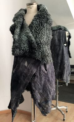 new yesterday - reworked fur fashion, reversible, one of a kind, SLOW FASHION