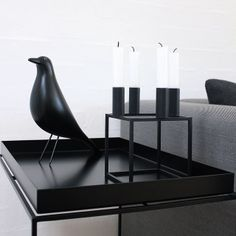 hay tray table, eames housebird and the fabulous by lassen kubus Scandinavian Interior, Scandinavian Design, Modern Interior, Small Furniture, Deco Furniture, Home Interior Accessories, My Living Room, Eames, Inspiration
