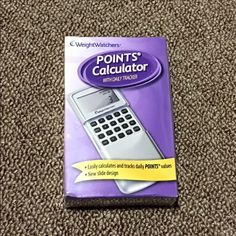 """""""Weight Watchers"""" Points Calculator (Never opened) """"Weight Watchers"""" Points Calculator (Never opened) Currently (retails for $29) Weight Watchers Other"""