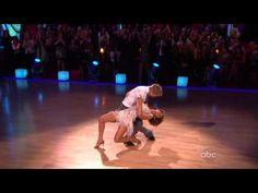 Jennifer Grey and Derek Hough Cha-Cha-Cha