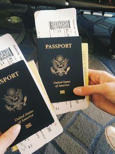 Airplane Girls Passport Travel Trip Tumblr