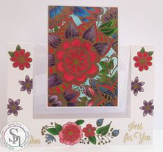Floral Card made wit