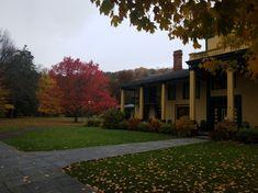 Fall colors outside the Glen Iris Inn - 2018