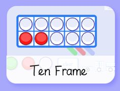 Ten Frame learning games for early finishers in the computer lab Literacy Games, Learning Games, Math Games, Maths, Educational Games, Educational Technology, Stem Courses, Number Spelling, Teen Numbers