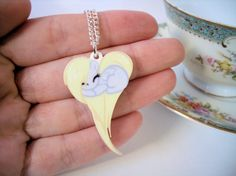 Very cute-Wonder if we could do something similar with shrink plastic... My Little Pony Derpy Hooves Heart Shaped by BeautBoutique on Etsy, £9.00