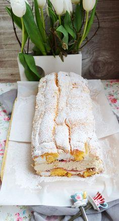 kardinal4 Austrian Recipes, Austrian Food, Love Cake, Camembert Cheese, Cake Recipes, Biscuits, Bakery, Vanilla, Cooking