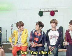 "Talking about Jonghyun showing his abs... #4 Taemin; ""You like it."" Jonghyun; ""Sure I do!"" :DD"