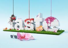 Taste festival 3D illustration