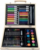 Brand new art sets that had dried up markers and crayons that did not colour. Still mega fun though! Giveaways, New Art, Childhood Memories, Markers, Back To School, Logo, Kids, Brush Pen, Wax