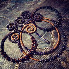 Függők... Pendants Washer Necklace, Anna, Pendants, Beads, Jewelry, Jewerly, Beading, Jewlery, Hang Tags