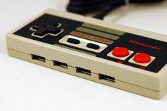 NES Controller #USB #Hub #gadget #nintendo