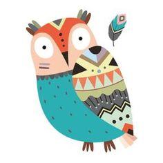 Stickers Scandinavian Owl Bird Deco Dec 173 – Sticker size: Width 10 - Home Page